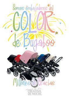 Mil gracias a todos por vuestro apoyo!   #atodocolor #bugabooespana @BugabooES @Madresfera #quieroserembajador