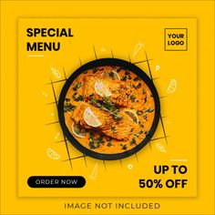 Order your favorite food from zomato and for great discounts apply these coupon from Banner Social Media, Social Media Poster, Social Media Design, Food Graphic Design, Food Menu Design, Food Poster Design, Food Template, Banner Template, Cookbook Template