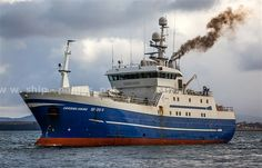 Offshore Commercial Longline Fishing Boat Carisma Viking From Norway.