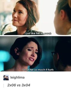 Sanvers parallel - Supergirl - Alex Danvers - Maggie Sawyer