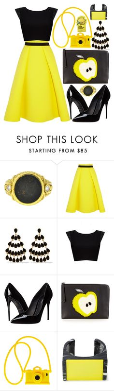 """in the big apple"" by loveselena22 ❤ liked on Polyvore featuring Judith Ripka, Roksanda Ilincic, Kenneth Jay Lane, Alice + Olivia, Dolce&Gabbana, Fendi, Moschino, STELLA McCARTNEY, Tony Moly and modern"
