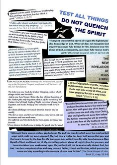 The New Revelation of Jesus Christ Jesus Christ, Knowledge, Spirit, Teaching, Learning, Education, Facts