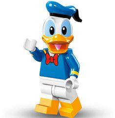 Lego Minifigure Serie Disney, Donald