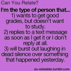 Um yeah I can defiantly relate.