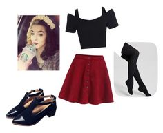"""inspired by Melanie Martinez"" by gb041112 ❤ liked on Polyvore featuring Hue"