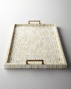 Bone+Tray+with+Brass+Handles+by+Regina-Andrew+Design+at+Neiman+Marcus.