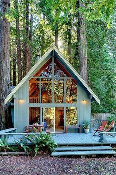 Gorgeous A-Frame cabin
