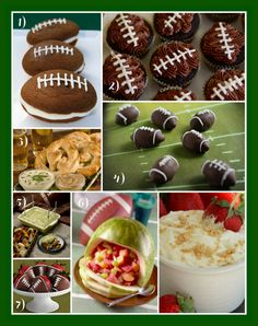 football theme food