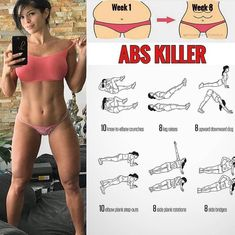 Abs killer workout❤ Follow us @fitnestutorials for the best daily workout tips! Like - Share - Save ✨