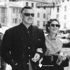 portofino:  The icon Clark Gable in Portofino. @portofino
