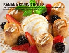 P.F. Chang's Banana Spring Rolls