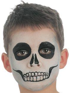 Skeleton face paint - goodtoknow