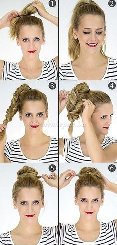 If you are looking for a lovely bun hairstyle for your long hair, you may give an eye to the collection we have got over here. We have got 5 Gorgeous Bun Hairstyle Tutorials only For You! Don't miss the opportunity to have an elegant look. Bun Hairstyles For Long Hair, Elegant Hairstyles, Medium Hair Styles, Curly Hair Styles, Bob, Trending Haircuts, Hair Lengths, Hair Inspiration, Hairstyle Tutorials