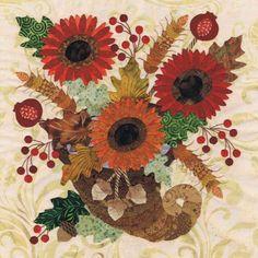 Blk # 3 Cornucopia Bouquet