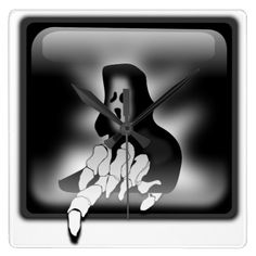 Grim Reaper Death Wall Clock #Halloween special #Death $29.95