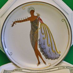 "Limited Edition House Of Erte ""Diva II"" Collector Plate - Franklin Mint - SOLD!"