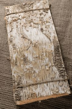 "Birch Bark Sheets 15"" long x 6.75"" wide (6 pieces/pkg) - maybe to make traveling journals"