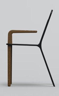 Ik vind de stoel mooi omdat hij lekker eenvoudig is