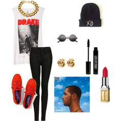 """Drakeee"" by brooklyn-yarbrough on Polyvore"