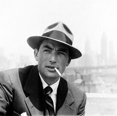 """gregorypeck: """" Gregory Peck, May 1947 """""""