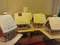 Slovakian Gingerbread houses