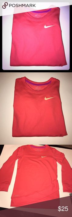 ~~GIRLS NIKE T-SHIRT...SIZES 4 /& 6...100/% COTTON....NEW WITH TAGS~~