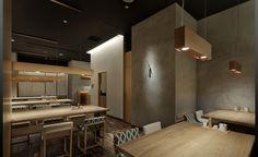 TDO + moonbalance|辻村久信デザイン事務所・株式会社ムーンバランス Japanese Shop, Japanese Style, Cafe Restaurant, Office Furniture, Minimalism, Cool Designs, Flooring, The Originals, Architecture