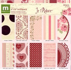 8x8 Holiday Paper Pack from Making Memories - Je t'Adore. $4.99, via Etsy.