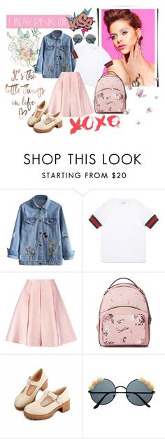 """""""P I N K"""" by color-dli on Polyvore featuring мода, Gucci и Emilia Wickstead"""