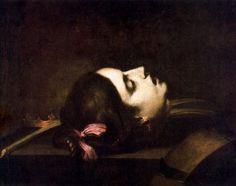 Sebastián de Llanos Valdés Head of Saint Catherine of Alexandria (1652) Musée…