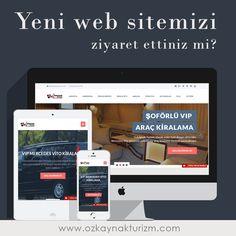 Yeni web sitemizi ziyaret ettiniz mi? Mobil ve tablet cihazlarınızda sitemizde daha rahat dolaşabilmek ve aradığınıza daha kolay ulaşabilmek için web sitemizi yeniledik. www.ozkaynakturizm.com  #vipminibuskiralama #kiralikminibus #vitokiralama