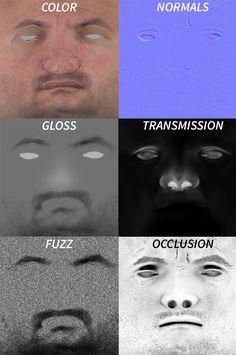 ArtStation - Self Portrait - CGMA Class, Peter Zoppi