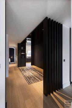 Black And White Interior, White Interior Design, Contemporary Interior, Interior And Exterior, Interior Decorating, New York Townhouse, Minimalist Interior, Unique Home Decor, Home Look