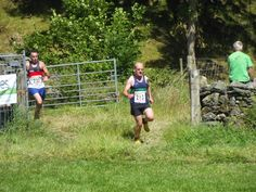 fell runners at Langdale