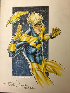 Booster Gold by Todd Nauck *