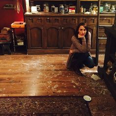 Just another day at the spice shop #Grimm [photo via @realbreeturner]