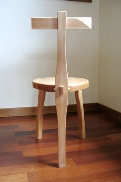 Pins Daddy Items Similar To 3 Legged Wood Chair Guitar Stool Maple On Etsy Picture to Pin on Pinterest