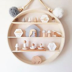 10 of the most stylish wall shelf options for a nursery or child's room on any budget Planning on decorating your child's room? A wall shelf is a staple in any kids space and we've rounded up the most stylish wall shelf options at all budgets Nursery Wall Shelf, Shelves In Bedroom, Wall Shelves, Kmart Decor, Kids Room Furniture, Cute Room Decor, Boy Decor, Kids Room Organization, Creative Walls