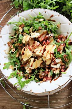 Crunch of Guernsey andouille with buckwheat and mint sauce - Healthy Food Mom Anti Pasta Salads, Pasta Salad Recipes, Diet Recipes, Cooking Recipes, Healthy Recipes, Food Salad, Slow Food, Tasty Dishes, Clean Eating Snacks