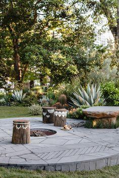 Tropical Landscaping, Modern Landscaping, Front Yard Landscaping, Backyard Landscaping, Landscaping Ideas, Landscaping Software, Hydrangea Landscaping, Backyard Designs, Garden Design Plans