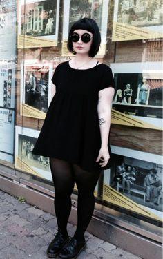 Nu Goth | Goth | chubby | Gothic | Dress