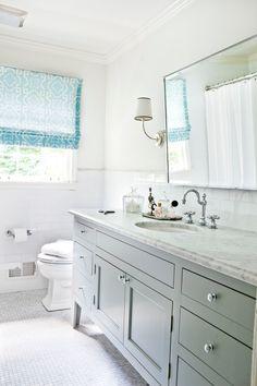 cabinet color, lighting, tile