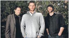 Misha Collins, Jensen Ackles, Jared Padalecki - The Men of Supernatural - Castiel, Dean Winchester, Sam Winchester
