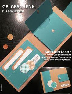 Card goes Art: Geldgeschenk für den Herren