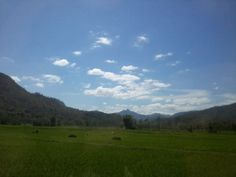 Great View at Wonogiri, Midle Java Indonesia
