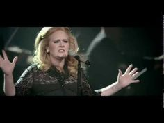 Set Fire to the Rain -Adele. Such a perfect voice and passion. Goose pimples.