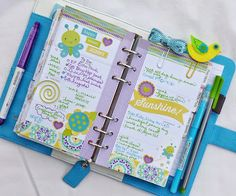 Sky Blue Color Crush Planner:: Anabelle O'Malley