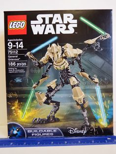 Lead the Separatist Droid Army with super-tough General Grievous as you've never seen him before! This ultra-fast General is ready for intense battle! Lead the Droid Army against the Jedi! Sturdy and durable design for intense action play. | Toy Treasure Box