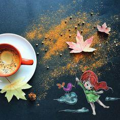 — Комне больше неприходит вдохновение! — Этозначит, чтотебе надо самой пойти емунавстречу. (Gekijouban Bungaku Shoujo) Итальянская художница Синтия Болоньезе работает на дому и рисует иллюстрации к детским книжкам. Как то раз Синтия пила кофе серым зимним утром, ее взгляд случайно упал на черную бумагу, которую она обычно использует для защиты стола от красок – рядом...