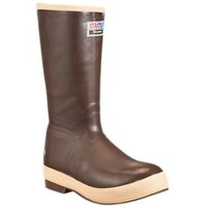 Xtratuf Legacy 15'' Insulated Rubber Boots for Men - Copper Tan - 11 M